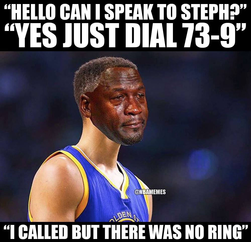 Top ten hilarious memes about Stephen curry choking in the finals ... 73a0a6501